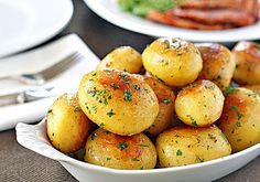 Parslied potatoes. An Irish staple, but great for summer too!