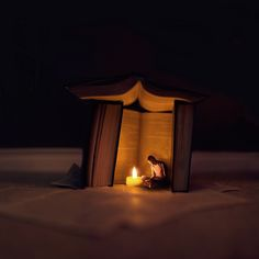 """Incredible, imaginative, and clever photography by Joel Robinson.  This is """"Night-Time Stories.""""  Photostream here:  http://www.flickr.com/photos/joel_r/with/8236994142/"""
