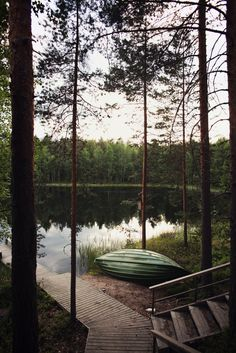 oh, to sit in that canoe on the still waters of the lake Photos Encadrées, Pictures, Photographs, Vie Simple, All Nature, Cabins In The Woods, Lake Life, The Great Outdoors, Outdoor Living