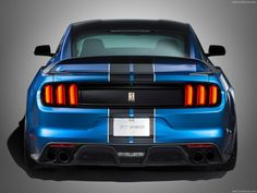 2016 Ford Mustang Shelby GT350R Back - http://car-pictures.info/2016-ford-mustang-shelby-gt350r-back/