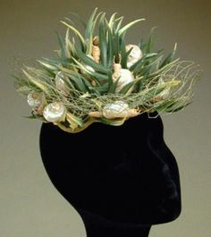 Bes-Ben Snail Hat - Couture and Textiles | Doyle Auction House