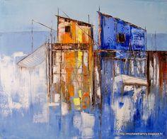 Toiles & Passion: Abstrait, semi abstrait, Déco