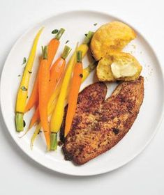 Make a big splash with these recipes featuring the ultimate family-friendly fish.  *the carrots!!!*