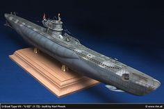 Die Luftwaffe im Modell: Die grauen Wölfe, U-Boot Typ VIIC - U 82 (1:72)