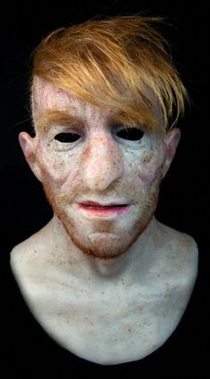 "Silicone Mask ""Antonio"" Halloween, NEW Hand Made, Pro High Quality, Unique #SkinWartsCause"