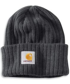Carhartt Men's Iconic Watch Hat, Black Heather, « Impulse Clothes