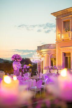 rception dans le jardin la franais de la villa ephrussi de rothschild saint - Villa Ephrussi De Rothschild Mariage