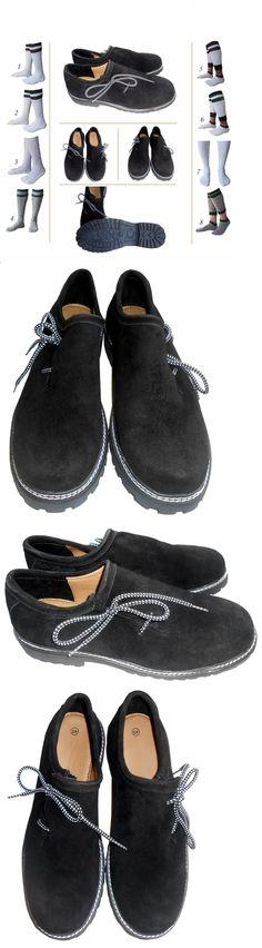 Lederhosen 163144: German Bavarian Oktoberfest Trachten Men Lederhosen Leather Shoes Package Set Lw -> BUY IT NOW ONLY: $48.5 on eBay!