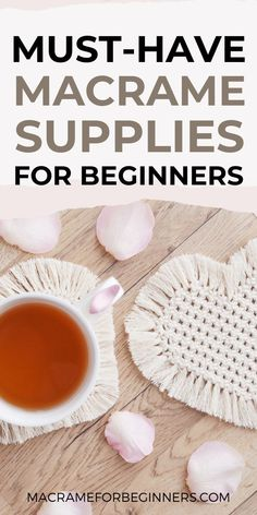 There isn't a better time to start with Macrame than in 2021! Take your pick from gorgeous cords, handy tools, the best teachers, and countless amazing free patterns. This easy beginner guide provides everything you need to get started with Macrame! #macrameforbeginners #macrameprojects #macramepatterns Macrame Supplies, Macrame Projects, Handy Tools, Cool Tools, Macrame Cord, Macrame Patterns, Wooden Rings, Cords, Plant Hanger