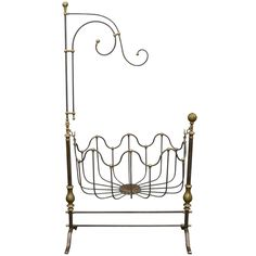 End of 19th-Early 20th Century Cradle