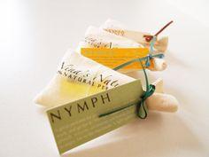 Packaging for Nina's Nature, natural perfume :)