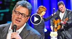 "In this stunningly beautiful performance, Vince Gill pays tribute to George Jones, at his funeral, and breaks down during the solemn concert. Singing ""Go Rest.."
