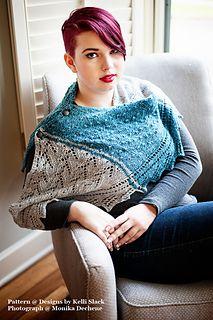 All Things Oregon Shawl by Kelli Slack (knitting)