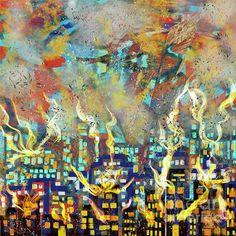 The #Beirut #Blast. #Digital #Art by #Caroline Street # #Cityscapes #Skyline #Fire Beirut, Cityscapes, Fine Art America, Digital Art, Instagram Images, Skyline, Street View, Fire, Wall Art