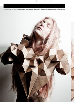 U+MAG | INTERPRETATION OF DREAMS  http://umagmag.com/2012/06/interpretation-of-dreams-photographed-by-pablo-saborido-with-paper-pieces-by-jean-matos-and-creative-direction-by-igi-ayedun/