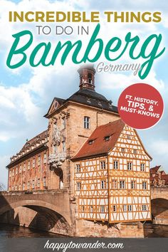 The perfect Bamberg, Germany guide for a first time visit. Includes Bamberg tips, beautiful Bamberg photography, and a list of amazing things to do in Bamberg that you can't miss! This insider Bamberg guide will tell you everything you need to know, from cafe recommendations to photography of the Bamberg skyline. #Bamberg #Germany #Travel