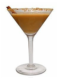 Drink your Thanksgiving Dessert! Pumpkin Pie Martini:  1oz Vanilla Vodka, 1/2 oz Licor 43, 1oz pumpkin liquor, 1/2 oz bailey's, splash butterscotch schnapps and ice.  Shake, pour and sprinkle with 1/4 tsp pumpkin pie spice.  for added pie effect, rim glass with fresh lemon juice and crushed graham crackers