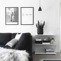 Black and white. Via Imagination for breakfast