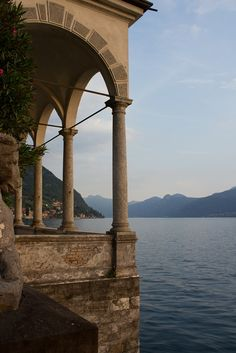 Villa Monastero in Varenna, Italy, on the shores of the Como lake. Shot during the 2013 Enrico Fermi Summer School Places Around The World, The Places Youll Go, Places To Go, Around The Worlds, Beautiful World, Beautiful Places, Lake Como, Travel Aesthetic, Narnia