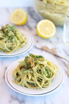 #HealthyRecipe : Creamy Avocado and Gouda Cheese Pasta