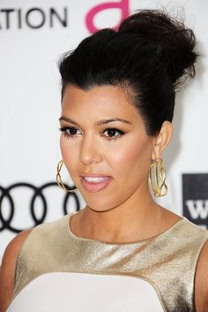 Celebrity Moms Who Admit To Having Breast Implants: Kourtney Kardashian