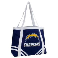NFL San Diego Chargers Canvas Tailgate Tote by Pro-FAN-ity by Littlearth. $11.59. NFL San Diego Chargers Canvas Tailgate Tote