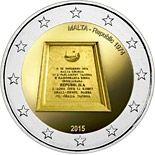 2 euro Republic 1974 - 2015 - Series: Commemorative 2 euro coins - Malta