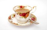 """A nice cuppa char is a common British phrase for """"a nice cup of tea."""""""