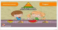 """""""La Pirámide de los Alimentos"""" (Juego de Ciencias Naturales de Primaria) Family Guy, Fictional Characters, Amor, Science Games, Science Area, Food Pyramid, Educational Games, Fantasy Characters, Griffins"""