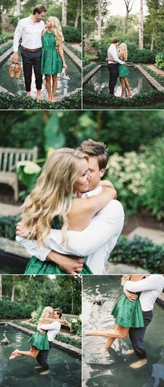 Romantic Oatlands Plantation Engagement Session