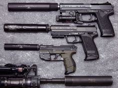 Mark 23, USP Tactical, and P22