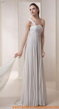3017  Vestido de Novia de Gasa White One