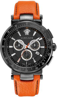 Versace Mens Mystique Sport Watch in Black for Men - Sport Watches - Ideas of Sport Watches - Versace Mens Mystique Sport Watch in Black for Men Top Watches For Men, Fine Watches, Sport Watches, Cool Watches, Elegant Watches, Stylish Watches, Beautiful Watches, Dream Watches, Luxury Watches