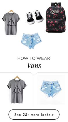 """""""casual summer"""" by mjbol on Polyvore featuring Vans"""