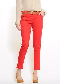 i'm late on the red pants trend, but still love these and cant wait to wear my new ones!