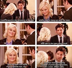 """""""The Town"""" (Parks and Recreation)"""