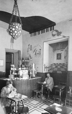 Zbyszko Siemaszko, Kawiarnia Lajkonik (wł. Krakowianka), między 1955 a 1965 rokiem, fot. ze zbiorów Narodowego Archiwum Cyfrowego (NAC) - photo 3