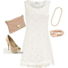 """""""Rehearsal Dinner Outfit"""" by danalcook on Polyvore. Polyvore is so much better than fashionworship! Apologies..."""