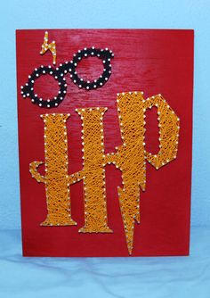 Harry Potter Picture - String Art (Wall-Hanging)