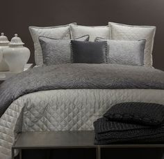 Ann Gish Luster Quilted Coverlets & Bed Shams