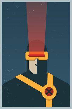 marvel minimalist posters by michael b. myers jr.