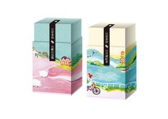 Nice #tea #packaging #design and illustration PD
