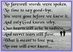 I miss you Mom.....