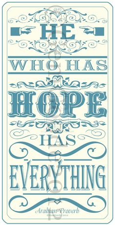 Hope .... quotes / sayings /  by ~gemgoode  Digital Art / Typography