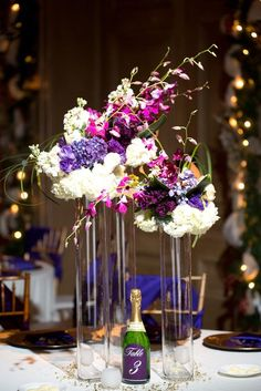 Wedding centerpieces help set the theme and bring extra decorations to the room, it's a great way to incorporate atmosphere into your reception. With delicate flowers and elegent greenies, you would never go wrong! Take a look at these stunning centerpiece designs from Brides of Oklahoma, and happy pinning!