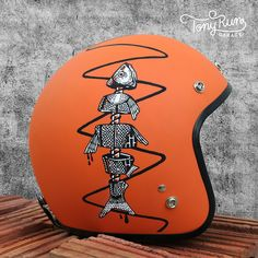 Custom Helmets & Gear Inspiration | Bobber & Chopper Motorcycles | Old school vintage style bike art & apparel
