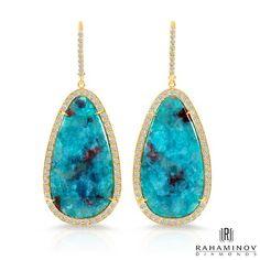 #Pariba, paraiba! 👏👏👏💎 #tgif #rahaminov #diamonds #gemstones #instajewels #love #diamondjewelry #beautiful #summer #instafashion #jewelry #jewelrygram #earrings #diamondsareagirlsbestfriend #fasiondiaries