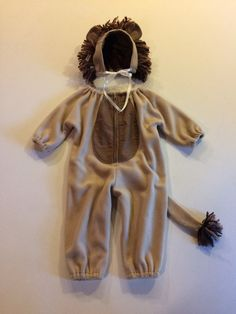 Lion costume kids toddler infant costume by AllStitchedUpByJoan