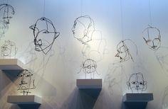 """""""I think best in wire,"""" Alexander Calder"""