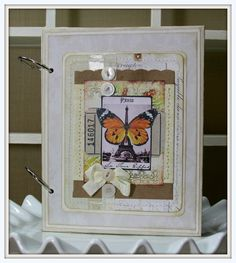 Butterfly Art Journal Smash Book - Polly's Paper